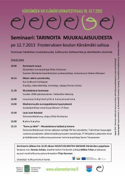 ET seminaari 2013